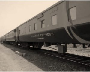 Shalimar express train