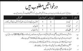 Army School of Logistics Murree Jobs 2019 November