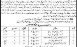 Jobs in Muzaffargarh District Education Department