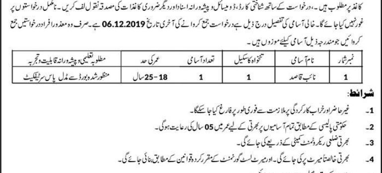 District Health Authority Jhelum Jobs