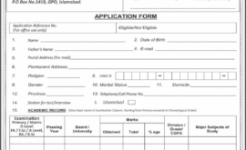 PO BOX 1418 Islamabad Jobs