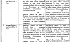 Ghazi University Dera Ghazi Khan GUDGK Jobs