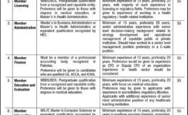 Pakistan Medical Commission Islamabad PMC Jobs