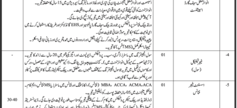 Local Government Sindh Jobs