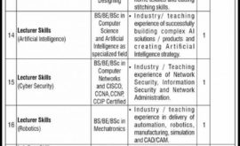 NUTECH Jobs National University of Technology