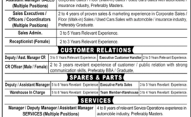 Toyota Motor Corporation Jobs