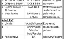 Pakistan Rangers Education System Jobs