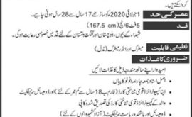 Pak Army Frontier Works Organization FWO Jobs