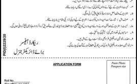 PO Box No 240 GPO Rawalpindi Jobs