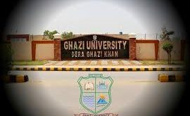 Ghazi University Dera Ghazi Khan BS Merit List