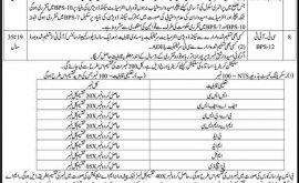 Elementary Secondary Education Laki Marwat Malakand Jobs Via NTS