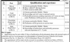 Pakistan Girl Guides Association PGGA Jobs